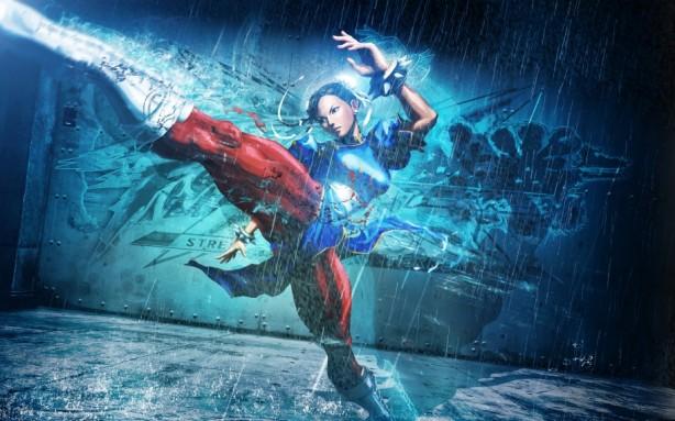 Chun Li kick